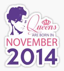 It's My Birthday 4. Made In November 2014. 2014 Gift Ideas. Sticker