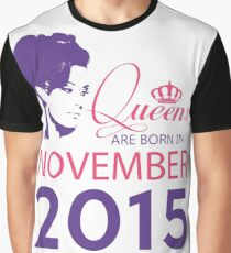 It's My Birthday 3. Made In November 2015. 2015 Gift Ideas. Graphic T-Shirt