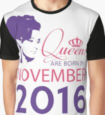 It's My Birthday 2. Made In November 2016. 2016 Gift Ideas. Graphic T-Shirt