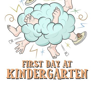 First day at Kindergarten by portokalis