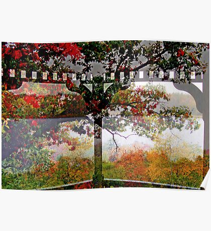 Rainy Fall Day   from The Gazebo  Poster