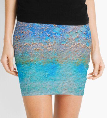 Cretan Blue Tartan Mini Skirt