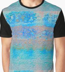 Cretan Blue Tartan Graphic T-Shirt