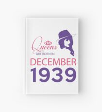 It's My Birthday 79. Made In December 1939. 1939 Gift Ideas. Hardcover Journal