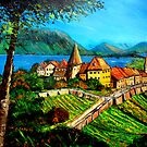LAKE BIEN-SWITZERLAND by JorgeCaputi
