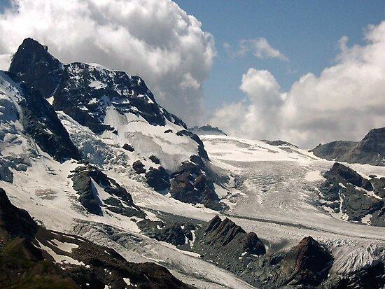Matterhorn Valley mountains by Monica Engeler
