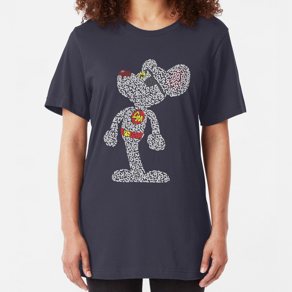 DMouse  Slim Fit T-Shirt
