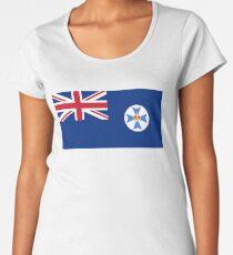 Queensland Flag, Australia Women's Premium T-Shirt