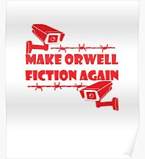 Make Orwell Ficion Again Poster