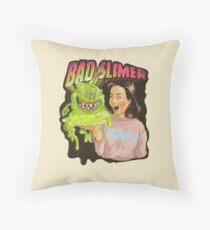 Bad slimer Throw Pillow