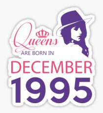 It's My Birthday 23. Made In December 1995. 1995 Gift Ideas. Sticker