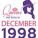 It's My Birthday 20. Made In December 1998. 1998 Gift Ideas. by wantneedlove