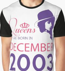 It's My Birthday 15. Made In December 2003. 2003 Gift Ideas. Graphic T-Shirt