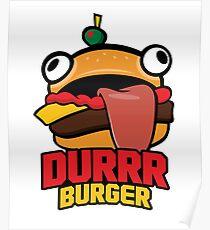 Durrr Burger Poster