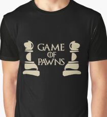 Game Of Pawns Chess Graphic T-Shirt