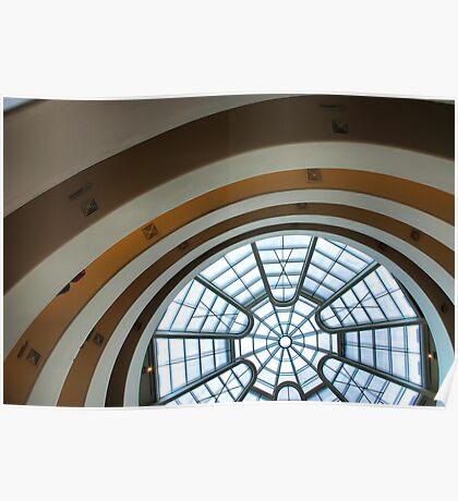 Guggenheim Museum - NYC Poster