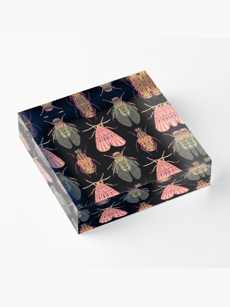 Alternate view of Beautiful Bugs Acrylic Block