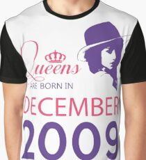 It's My Birthday 9. Made In December 2009. 2009 Gift Ideas. Graphic T-Shirt