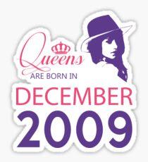 It's My Birthday 9. Made In December 2009. 2009 Gift Ideas. Sticker