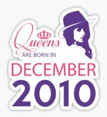 It's My Birthday 8. Made In December 2010. 2010 Gift Ideas. Sticker