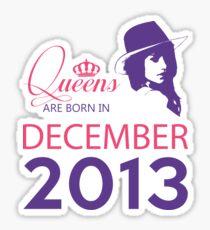 It's My Birthday 5. Made In December 2013. 2013 Gift Ideas. Sticker
