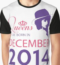 It's My Birthday 4. Made In December 2014. 2014 Gift Ideas. Graphic T-Shirt