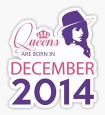 It's My Birthday 4. Made In December 2014. 2014 Gift Ideas. Sticker