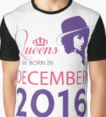 It's My Birthday 2. Made In December 2016. 2016 Gift Ideas. Graphic T-Shirt