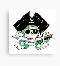 Pirat - One Eyed Willie Leinwanddruck
