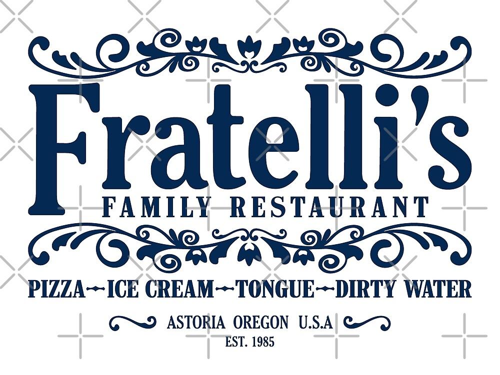 Fratellis Familienrestaurant von Candywrap Design