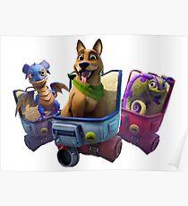 Fortnite - Pets Poster