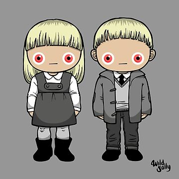 The Village of the Damned Kids. Halloween. by WildSally