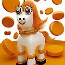 Butterscotch Unicorn by apadilladesign