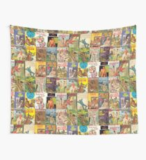 Vintage Gay Pulp Fiction Collage Version 2 Wall Tapestry