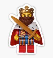 LEGO King Sticker