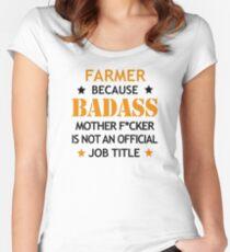 402e9bb062 ... pollo mamá mascota amante divertido. Camiseta entallada de cuello  redondo Regalo de Navidad divertido cumpleaños Badass granjero