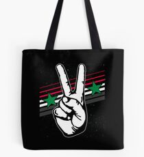 Syria nationality Tote Bag