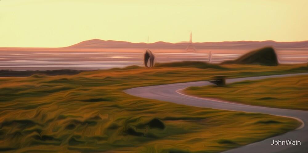 Walk along the coastal path by JohnWain
