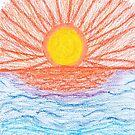 Sea Sunset by Naean Howlett-Foster
