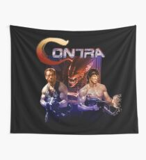 Contra Ripoff Wall Tapestry