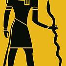 Alte ägyptische Gottheit Thoth von brookestead