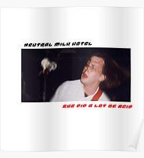 Jeff Magnum neutrales Milchhotel-Lied-Plakat Poster