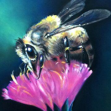 Bee Brave by Hopemartinart