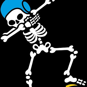 Dab dabbing skeleton Water polo Halloween Waterpolo swimming by LaundryFactory
