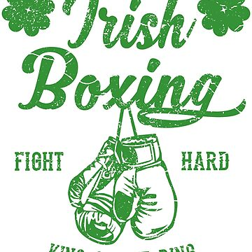 Irish Boxing Vintage- Irish Boxing by augenpulver