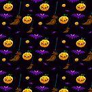 Halloween Pattern by Rowena Aitken