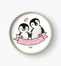 You're my Penguin | When Penguins are in Love Clock