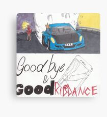 Juice Wrld - Goodbye & Good Riddance Metal Print
