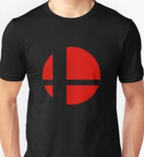 Camiseta ajustada Logotipo de Smash Bros.