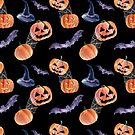 Halloween night by Emma   Reznikova